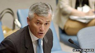 UN envoy Sergio Vieira de Mello - file pic