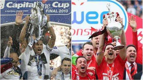 Swansea and Cardiff celebrate