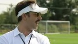 Hollywood actor Jason Sudeikis aka Tottenham's clueless American coach Ted Lasso