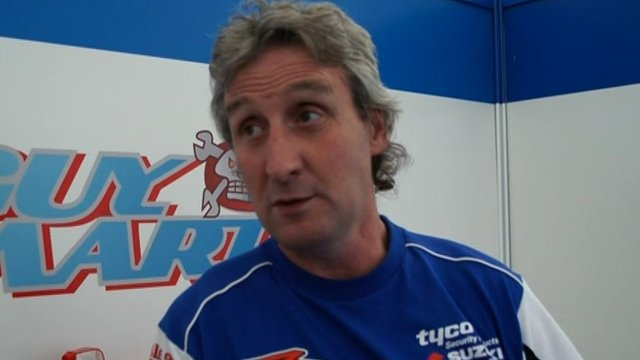 Tyco Suzuki team manager Philip Neill