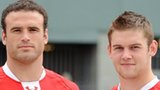 Jamie Roberts and Dan Lydiate