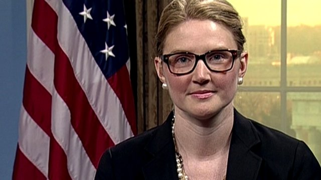 Marie Harf, deputy spokesperson at the US State department
