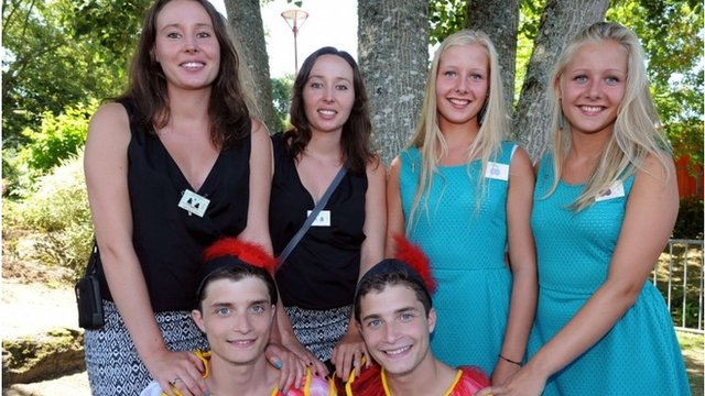 Siblings gather for twins festival in France