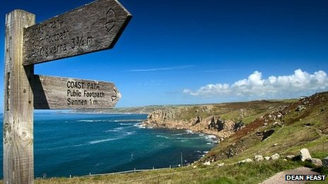 Lands End looking towards Sennen Pic: Dean Feast