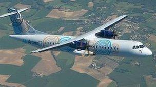 Aer Arran plane