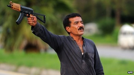 The gunman in Islamabad