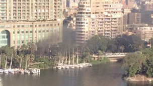 Four Seasons hotel on Nile, Cairo (16 August)