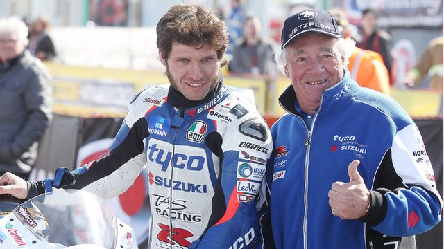 Guy Martin and Hector Neill