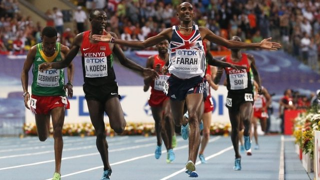 Great Britain's Mo Farah