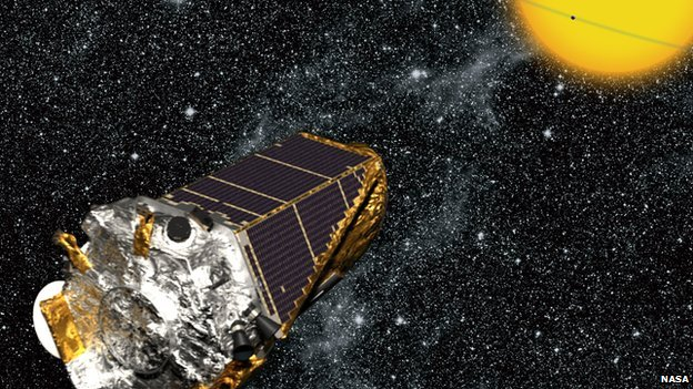 artist impression of Kepler