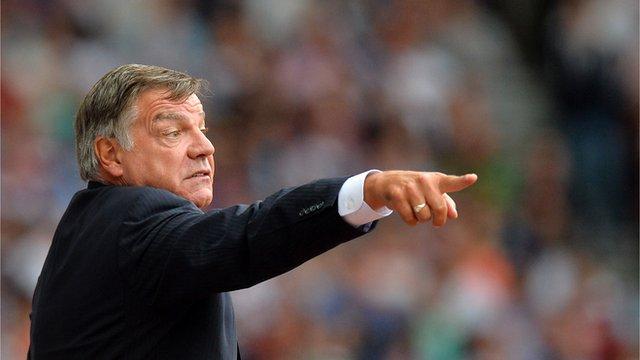West Ham manager, Sam Allardyce