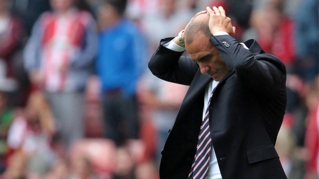 Sunderland manager Paulo Di Canio