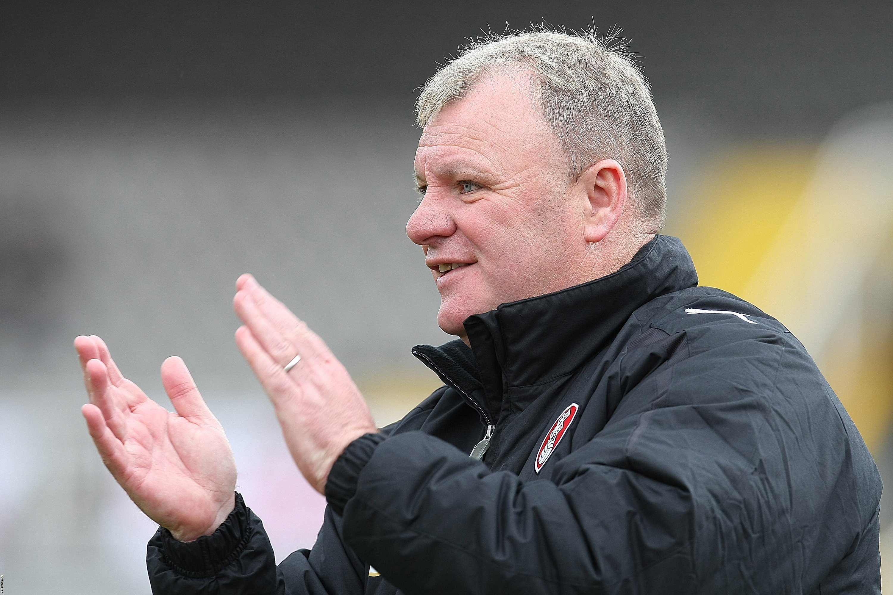 Post-match: Rotherham boss Evans