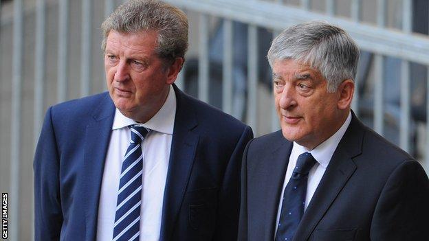 Roy Hodgson, David Bernstein