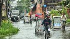 Flooding in La Paz, Iloilo City, Philippines. Photo: Al Destacamento
