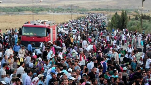 Image result for Iraqi refugees in kurdistan
