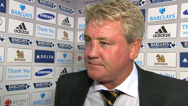 Hull City manager, Steve Bruce