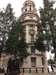 The Old War Office. (c) MOD. Image from http://www.bbc.co.uk/news/uk-23748635