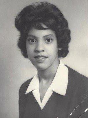 Jill Burrows in 1963