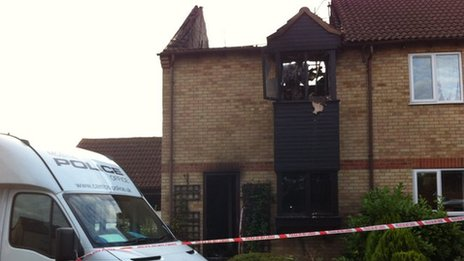 House fire in Littleport