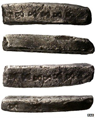 Early Medieval silver ingot