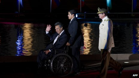 Lenin Moreno, file image from 2010