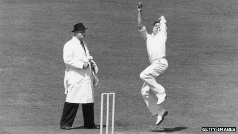 England and Essex all-rounder Trevor Bailey