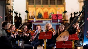 Musicians from Lancashire Sinfonietta
