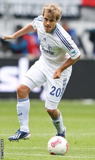 Schalke striker Teemu Pukki