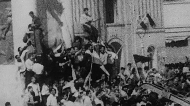 Still from archive footage