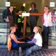 Protesters blockade Bell Pottinger's HQ