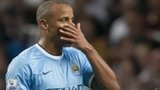 Vincent Kompany leaves the pitch