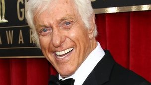 Dick Van Dyke at the Screen Actors Guild Awards in Los Angeles on 27 January 2013
