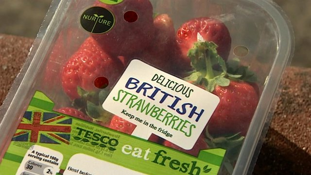 Tesco strawberries