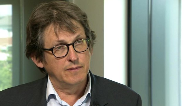 Alan Rusbridger, Editor of The Guardian