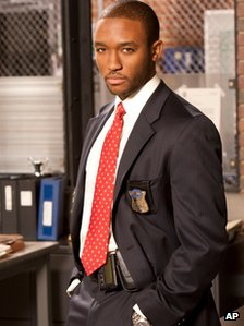 Lee Thompson Young as Detective Barry Frost in the TV series, Rizzoli & Isles