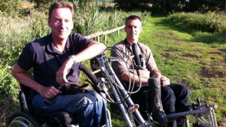Frank Gardner and Stuart Butchart
