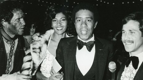 Richard Pryor with actress Pam Grier, who he dated for 18 months