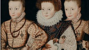 Three Unknown Elizabethan Children