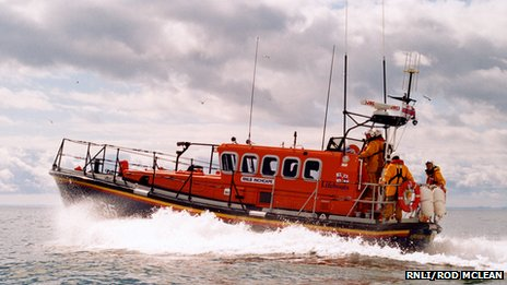 Arbroath lifeboat