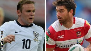 Wayne Rooney & Matty Smith
