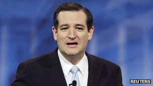 Ted Cruz file photo (16 March 2013)