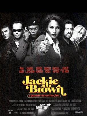 Jackie Brown film poster