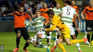 Shakhter Karagandy v Celtic