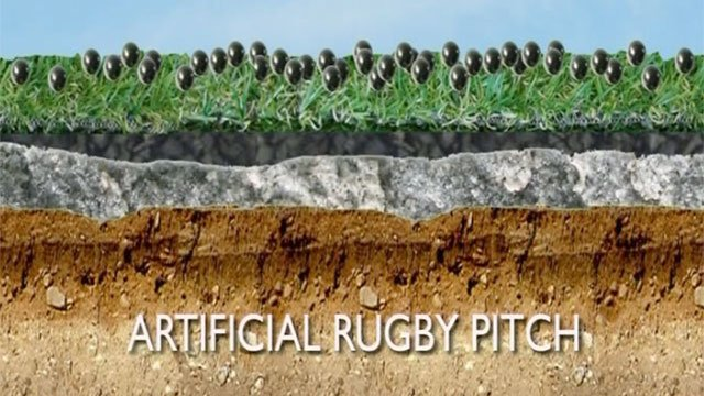 How Cardiff Blues pitch was formed