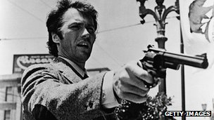 Clint Eastwood as Harry Callahan in the first Dirty Harry film