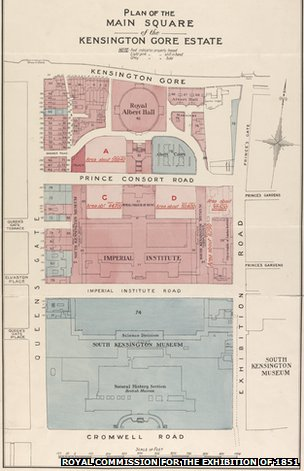 1910 plans of the estate