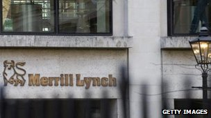 London offices of Bank of America Merrill Lynch