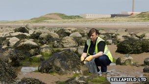 Sellafield environment monitoring