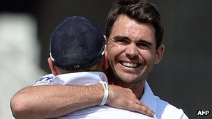 James Anderson and Matt Prior
